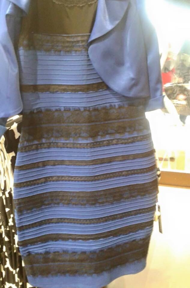 Black and blue or Gold and white dress explained