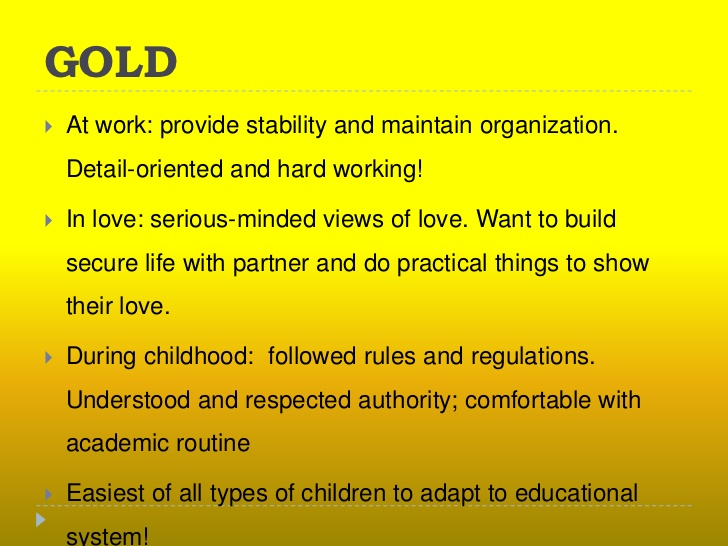 Gold Meaning Gold Color Psychology