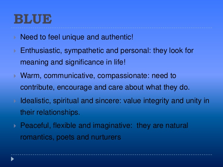 blue color meanings and symbolism