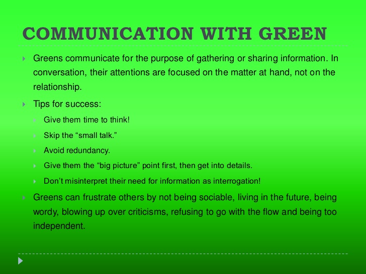 Green Color Psychology Green Meaning Personality