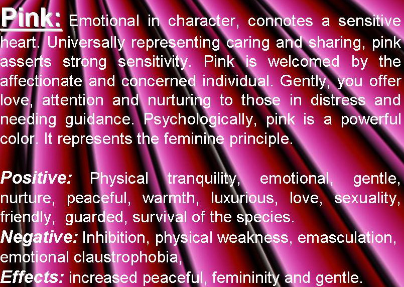 Pink Color Psychology Pink Meaning Personality