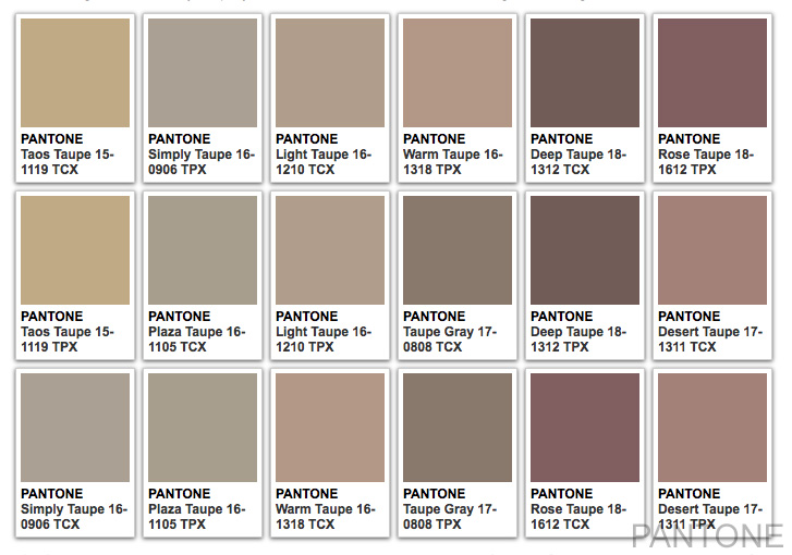 taupe color what color is taupe